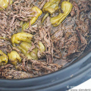 Sunday Slow Cooker: Pepperoncini Beef aka Drip Beef.