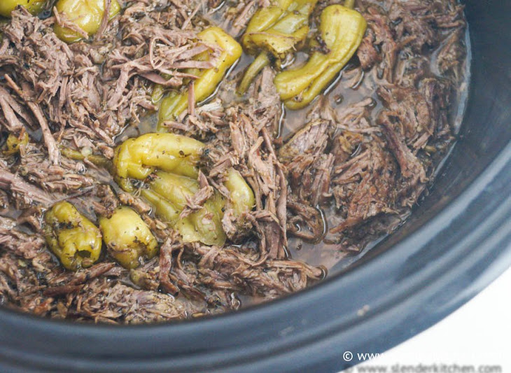 Sunday Slow Cooker: Pepperoncini Beef Aka Drip Beef Recipe