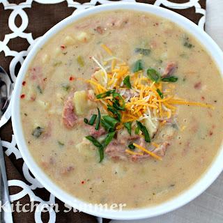 Ham Potato and Cauliflower Chowder