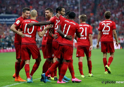 Thomas Müller, Jérôme Boateng, Javi Martinez en Xabi Alonso verlengen contract bij Bayern München
