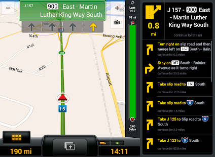 CoPilot Truck USA & CAN - GPS – Miniaturansicht des Screenshots