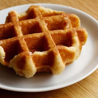 Sour Cream Belgian Waffle
