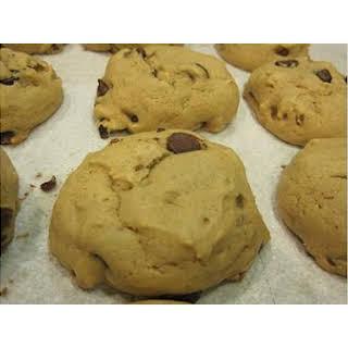 Vegan Diabetic Friendly Chocolate Chip Cookies.
