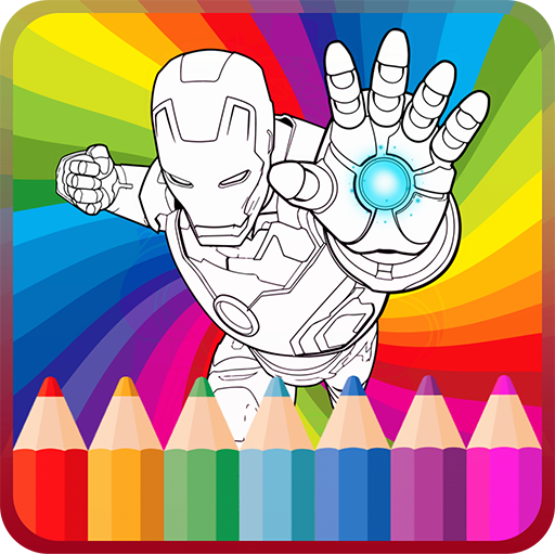 Superhero Coloring Book Apps Apk Free Download For Android PC Windows