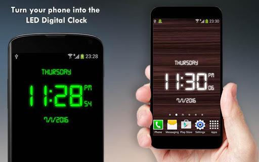 Digital Clock - LED Watch 2.1 screenshots 4