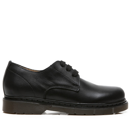Primary image of Step2wo Ramone - School Shoe - Black Leather