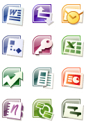 MS Office 2007 icons