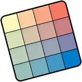 Farbpuzzlespiel + gratis Farb-Wallpaper downloaden icon