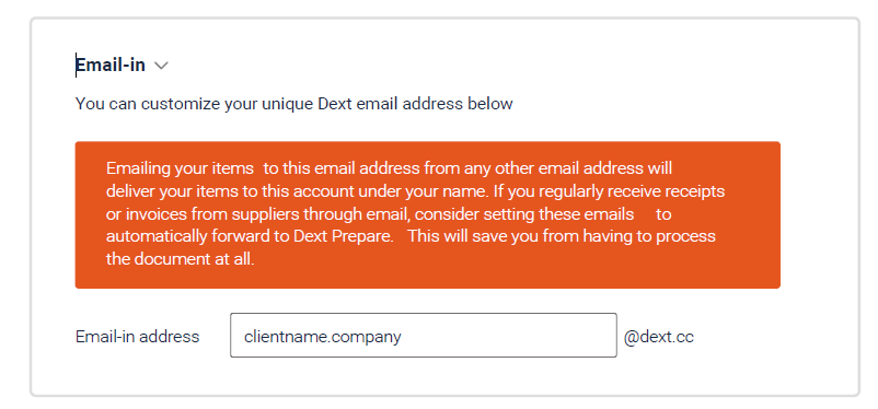 Email Dext