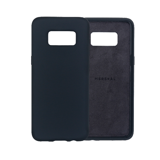 Merskal Soft Cover Galaxy S8 - Black