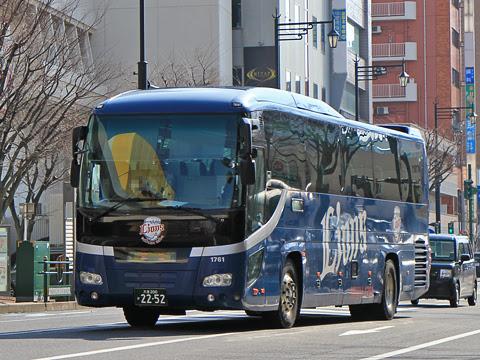 西武観光バス「関越高速バス」大宮・川越~長岡・新潟系統 1761