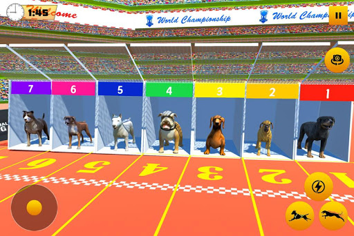 Dog Race Sim 2019: Dog Racing Games apkbreak screenshots 1