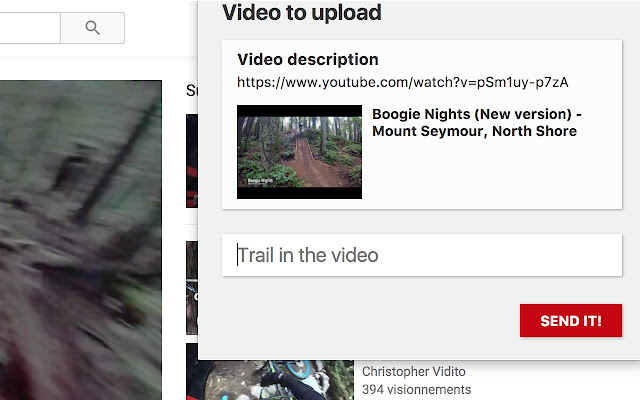 Youtube to Trailforks
