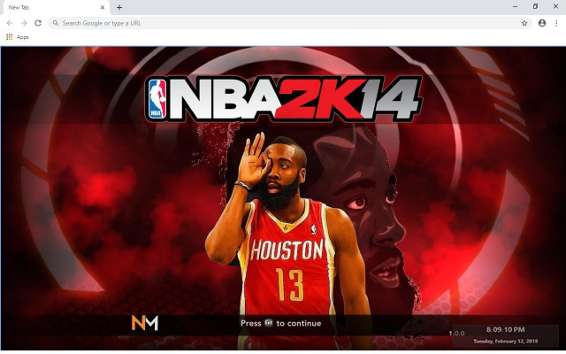 James Harden New Tab & Wallpapers Collection