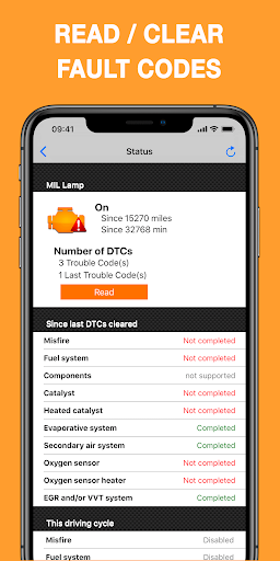 EOBD Facile - OBD2 scanner Car Diagnostic elm327 3.18.0651 screenshots 2