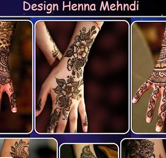 Design Henna Mehndi - náhled