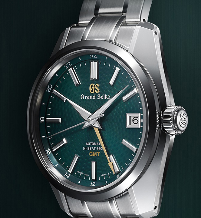 The Grand Seiko Hi-beat 36000 GMT is priced at approximately R90 000