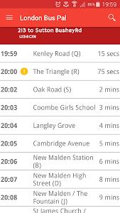 London Bus Pal screenshot 1