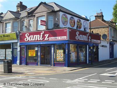 Samiz Chicken Pizza On Romford Road Fast Food Takeaway In