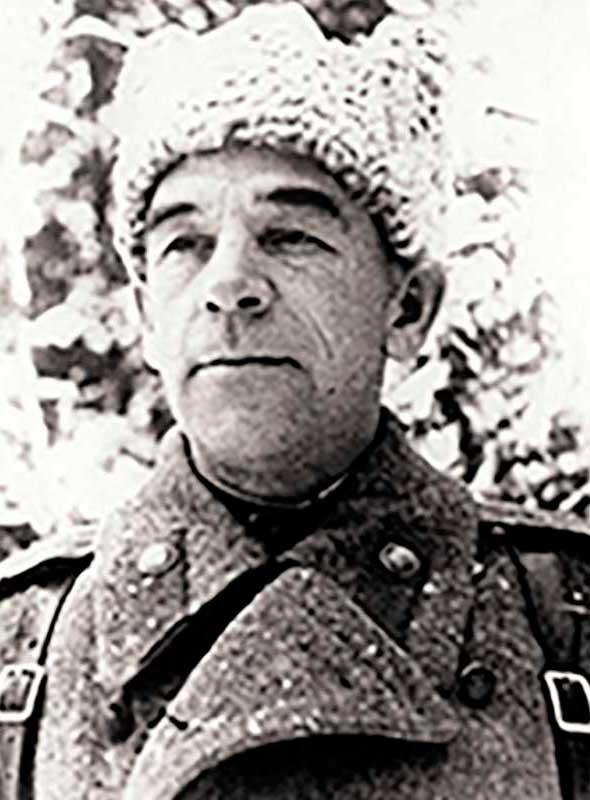 Федотов А.А. - командир 29 осбр 1 уд.А