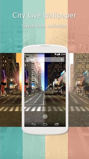 玩個人化App|動態街景牆紙 - 櫻花免費|APP試玩