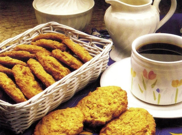 Grannie's Peanut Butter Cookies (oven Version) Recipe