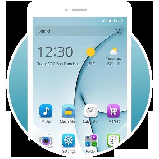 个人化のS7 Launcher - Samsung Galaxy LOGO-HotApp4Game