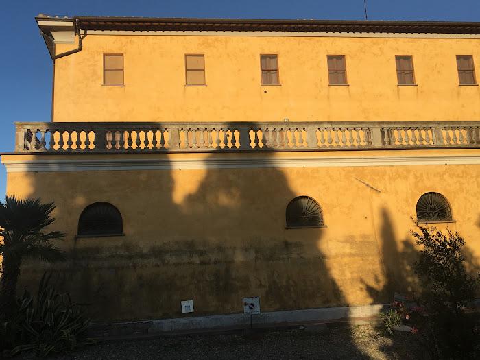 Villa Granducale, lato est, Alberese