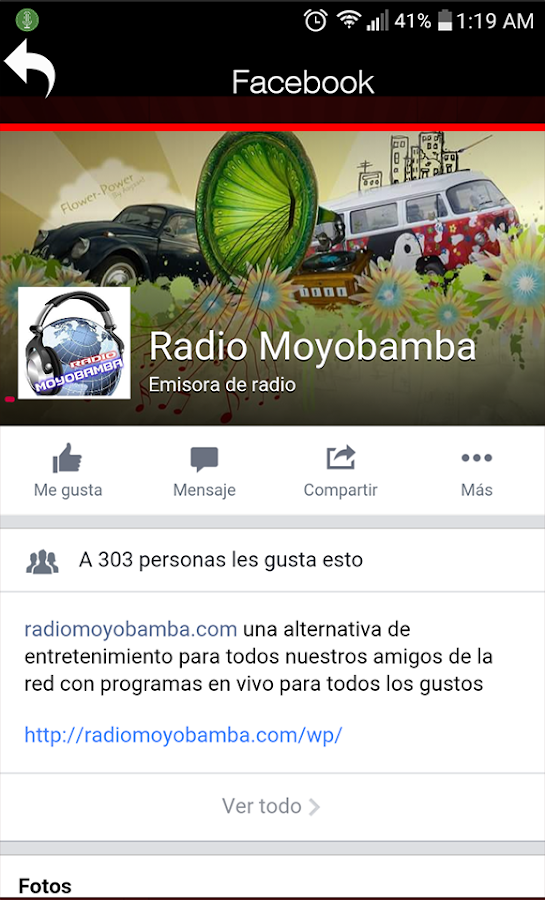 Radio Moyobamba- screenshot