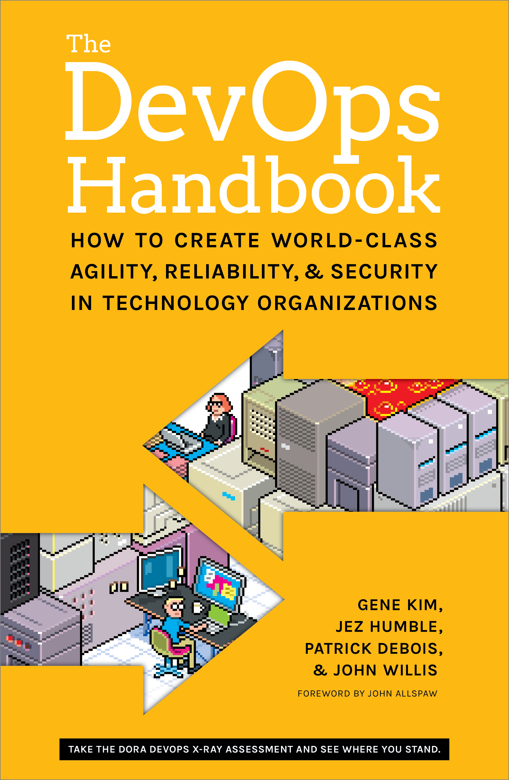 The DevOps Handbook by Gene Kim, Jez Humble, Patrick Debois, and John Willis