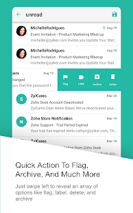 Inbox Insight for Zoho Mail- screenshot thumbnail