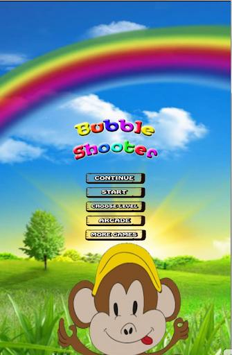 Shoot Bubble Monkey