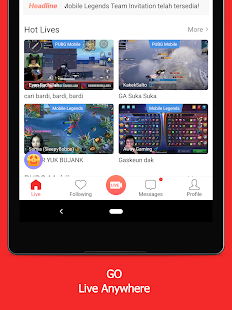 Game.ly Live - Mobile Game Live Stream Screenshot