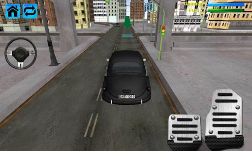ブラック車駐車場シミュレータ2