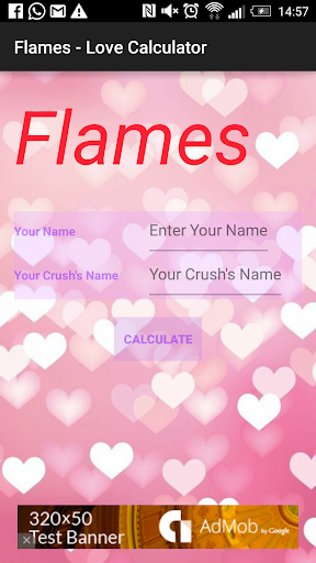 FLAMES - The Love Calculator