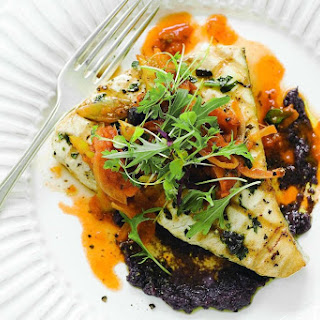 Chargrilled Swordfish With Caponata