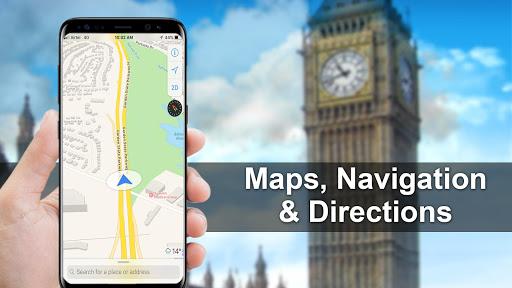 GPS, Maps, Navigations, Directions & Live Traffic 1.39.0 screenshots 1