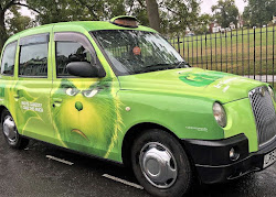The Grinch Full Wrapped Taxi