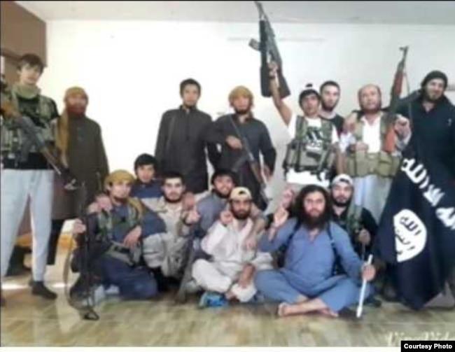 Граждане Таджикистана, воевавшие в ИГИЛ. Фотография сделана 16 марта 2018 года