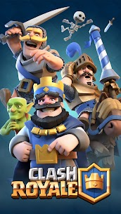Clash Royale 1.9.7 [Unlimited Money] MOD Apk 1