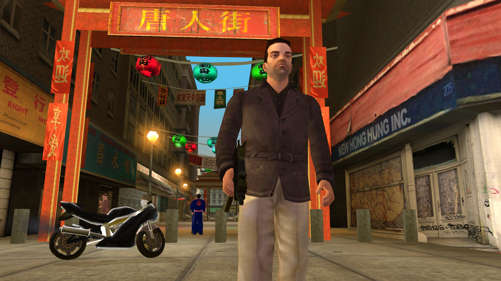 GTA: Liberty City Stories- tangkapan layar