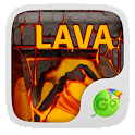 Lava Go Keyboard Theme