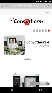 Convotherm 4 easyTouch™ Mobile- screenshot thumbnail