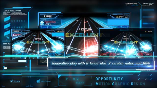 Screenshots of OverRapid for iPhone