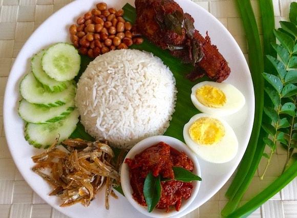 غذا های سنتی کوالالامپور