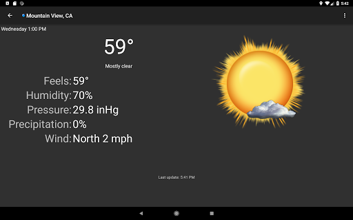 Palmary Weather screenshot 12