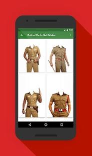 Police Photo Suit / Police Photo editor - náhled