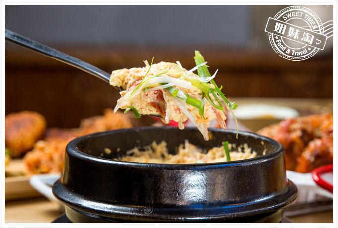 大月韓食創意料理菜單韓式水蒸雞蛋
