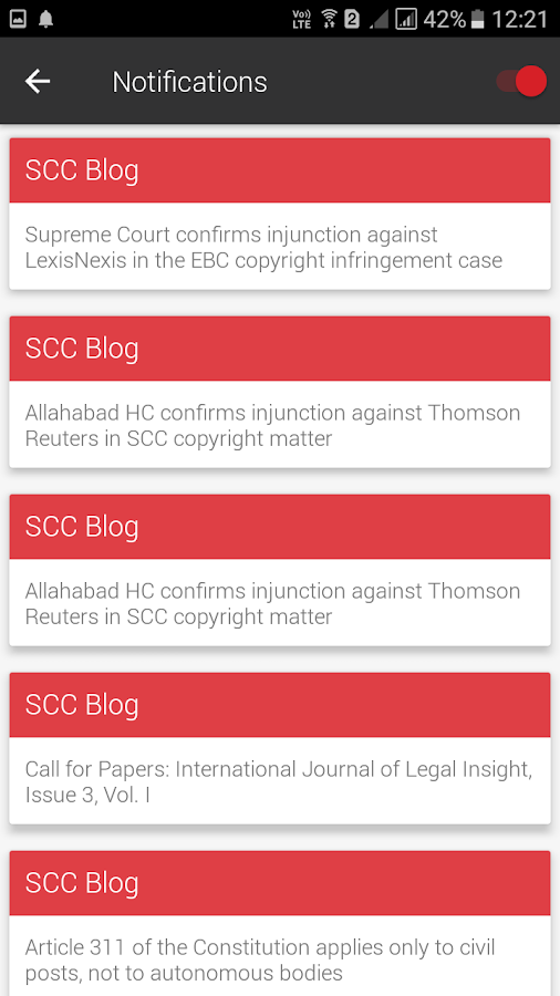 SCC Online- screenshot
