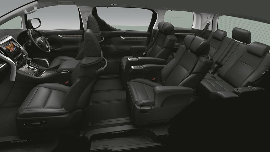 Interior & Fitur Toyota Vellfire